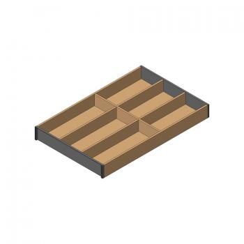 beschlaege online ambia line besteckeinsatz f r legrabox schubkasten holzdesign 6. Black Bedroom Furniture Sets. Home Design Ideas