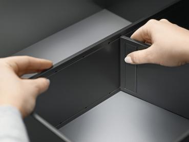 beschlaege online ambia line querteiler f r legrabox schubkasten kunststoff rahmenbreite 242 mm. Black Bedroom Furniture Sets. Home Design Ideas