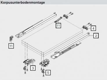 beschlaege online tandem movento auszugsarretierung. Black Bedroom Furniture Sets. Home Design Ideas