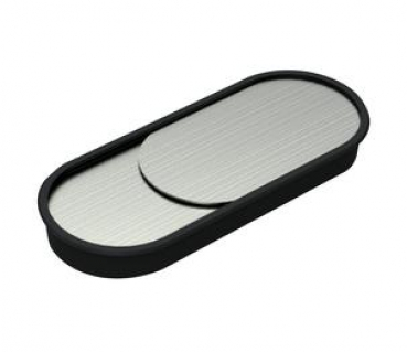 beschlaege online kabeldurchlass edelstahl kunststoff oval. Black Bedroom Furniture Sets. Home Design Ideas