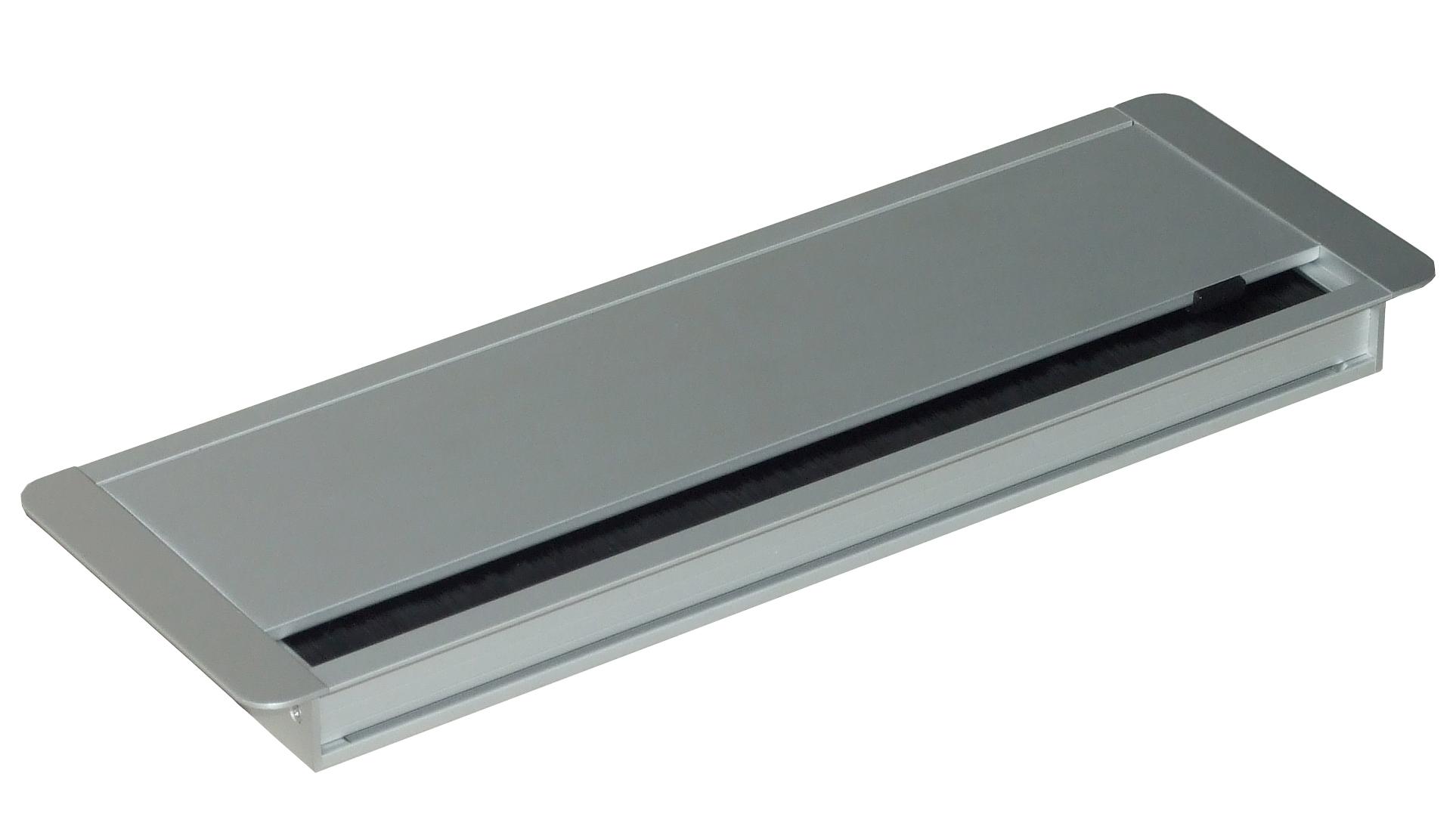 beschlaege online kabeldurchlass alu 120x360x25mm. Black Bedroom Furniture Sets. Home Design Ideas