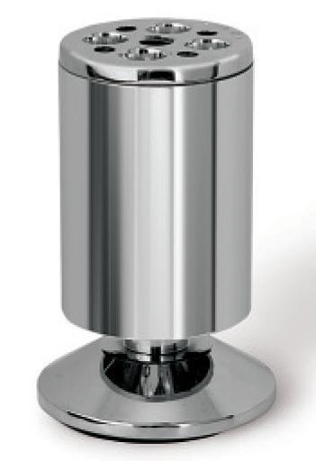 Beschlaege Online Mobelfuss Mobelfuss Chrom Poliert Aluminium 100mm