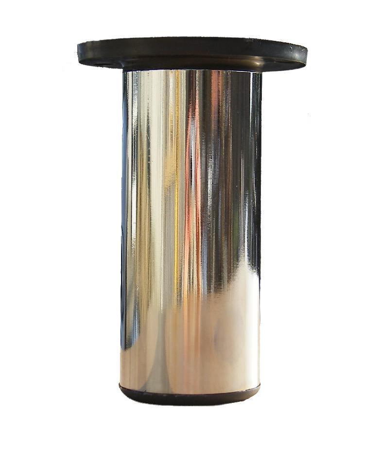 Beschlaege Online Mobelfuss Mobelfuss 125mm Chrom Poliert