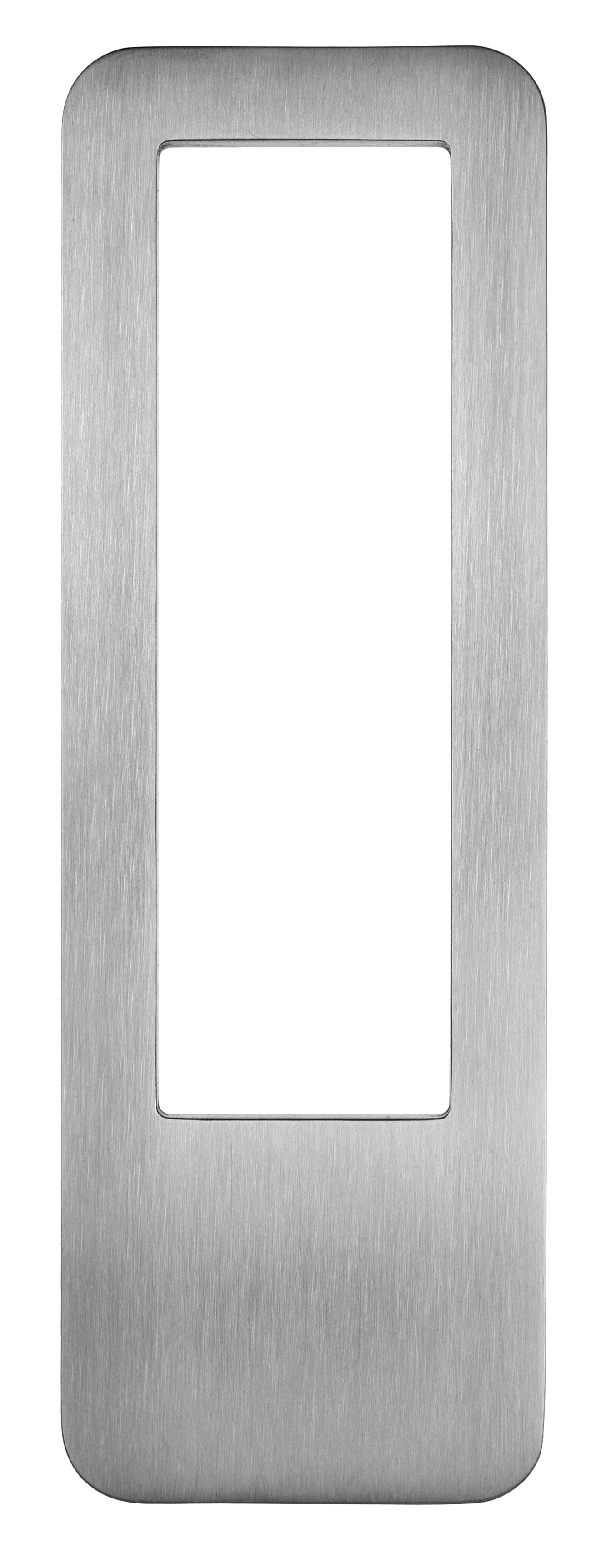 beschlaege online didheya sly rechteckiger schiebet rgriff mit griffmulde i 4060 zum kleben h. Black Bedroom Furniture Sets. Home Design Ideas